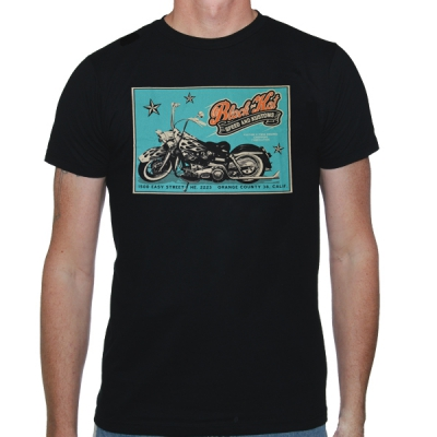 black-kat-kustoms - Easy Street | T-Shirt