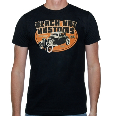 black-kat-kustoms - Salt Racer | T-Shirt