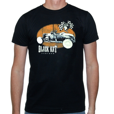 black-kat-kustoms - Ford | T-Shirt