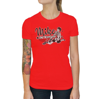 mike-ness - Tattoo Teen Girl Fitted T-Shirt