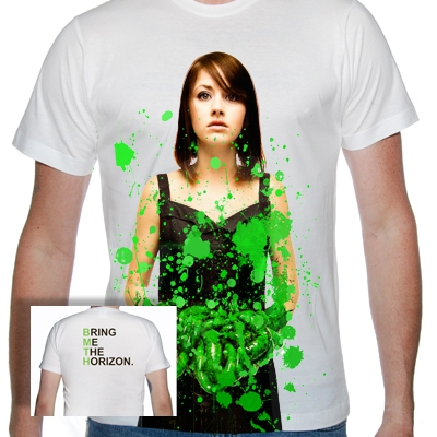 bring-me-the-horizon - Green Shirt | T-Shirt