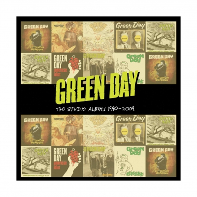 Green Day - Studio Albums 1990-2009 | 8xCD Box
